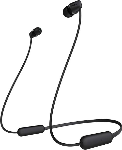SONY WI-C200 Wireless In-Ear Headphones with Mic Bluetooth Headset