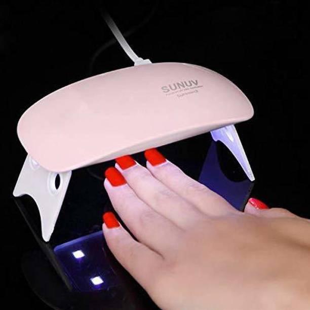 MURTIFASHION Automatic Hand Sensor nail Art Tools 6W UV LED Lamp Nail Dryer Machine Nail Polish Dryer