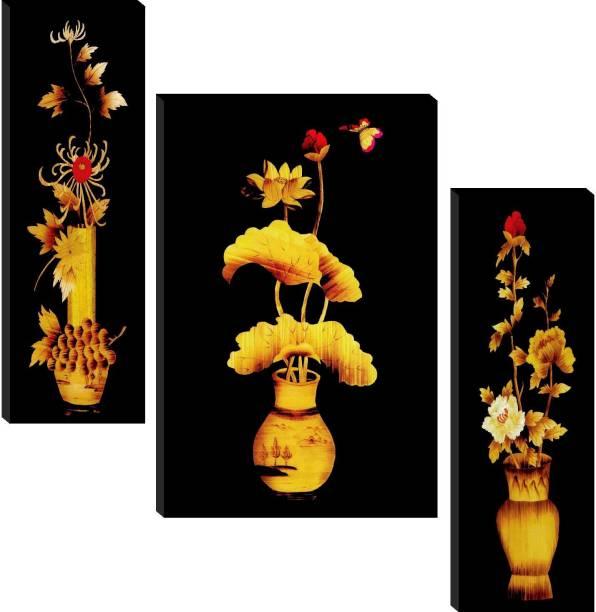 Floral Set of 3 Paper Print