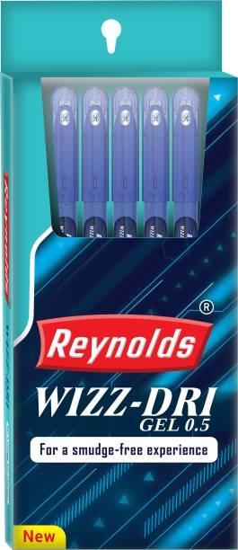 Reynolds Wizz Dri Blue Gel Pen