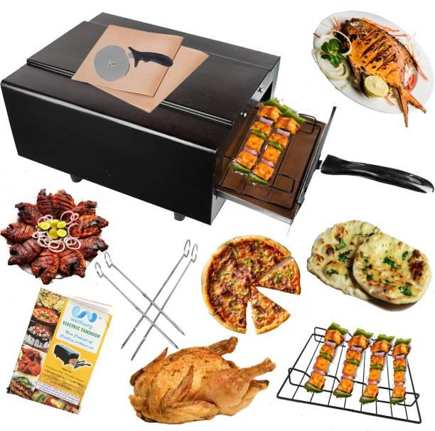 Wellberg Electric Tandoor with Nonstick Sheet (Size Mini) Electric Tandoor Pizza Maker