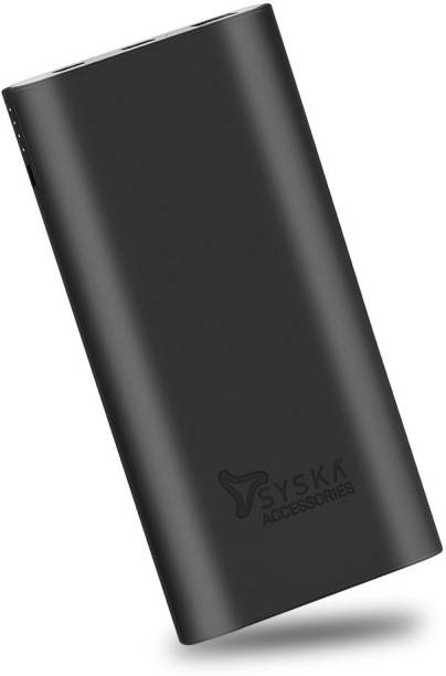 Syska 10000 mAh Power Bank (18 W, Fast Charging, Quick Charge 3.0)