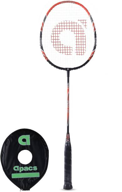 apacs Tyro 115 Black, Orange Strung Badminton Racquet