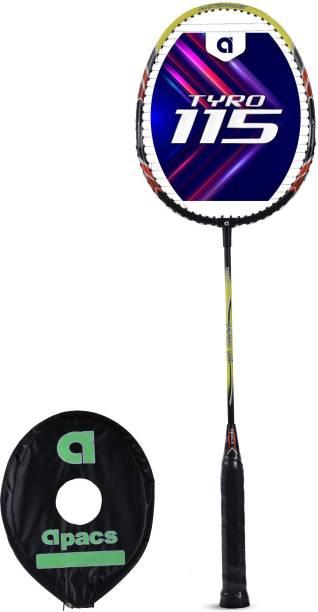 apacs Tyro 115 Black, Green Strung Badminton Racquet