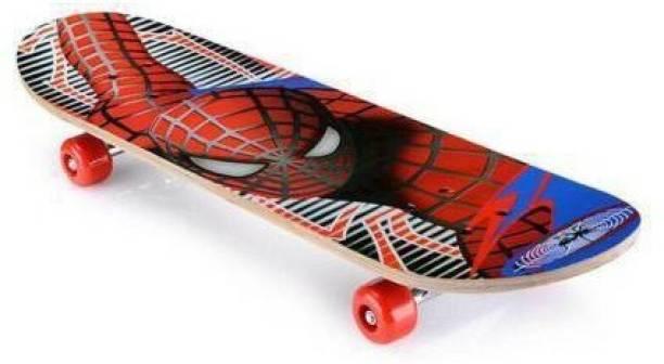 S.V.Enterprises Best Spiderman Skateboard 18 inch x 5 inch 18 inch x 5 inch Skateboard