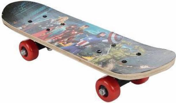 ZARTHA Blue 18 inch x 5 inch Skateboard