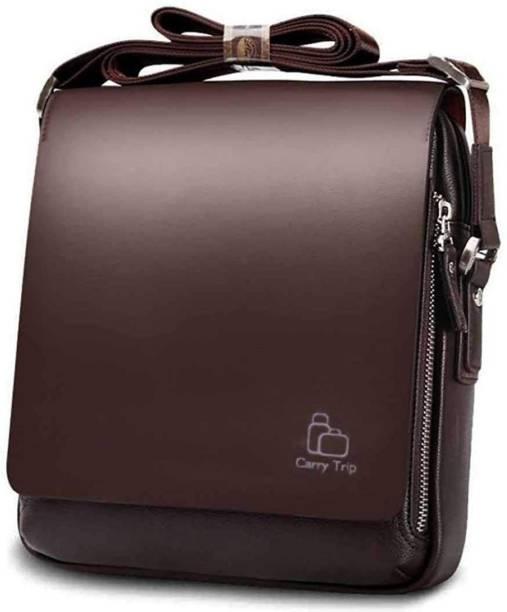 komto Brown Sling Bag