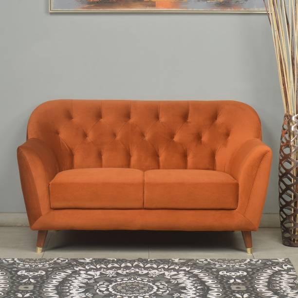 @Home by nilkamal Jennifer Fabric 2 Seater  Sofa