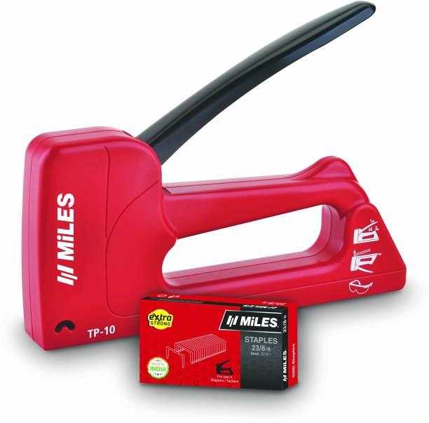 Miles TP-10 + 23/8-H pin Combo Cordless  Stapler