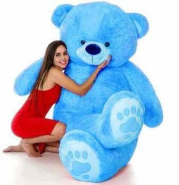 Tedstree 3 feet blue teddy bear most beautiful teddy and cute and soft love teddy  - 95.83 cm