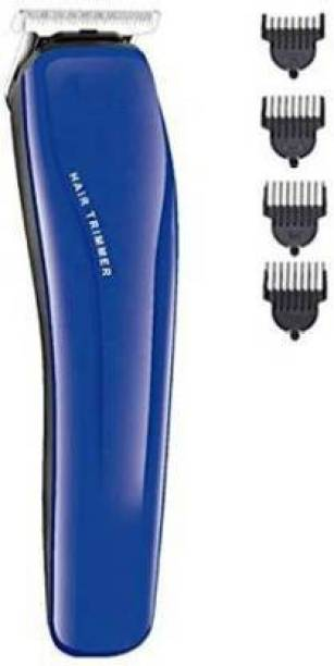 BELIONERA HTC-AT-528 Rechargeable Beard Hair Trimmer With 4 Hair Clipper  Runtime: 45 min Trimmer for Men & Women