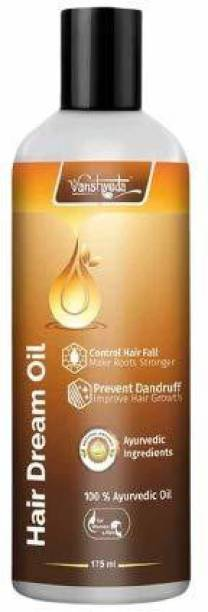 Vanshveda Hair Dream Oil Prevents Hair Fall and Makes Hair Silky Soft And Shiny 175ml