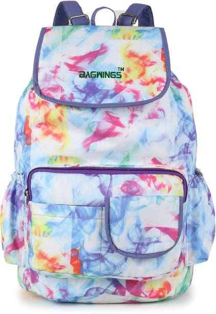 BAGWINGS 16-L BW Backpack  Stylish Trendy Girls School College Student Travel Bag 15 L Backpack