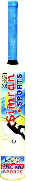 Simran Sports Plastic Cricket Bat, Cricket Bat for Boys, Plastic Bat Size 2 PVC/Plastic Cricket  Bat