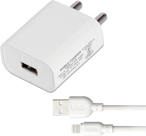 ERD TC-50_IP5 2 A Mobile Charger with Detachable Cable