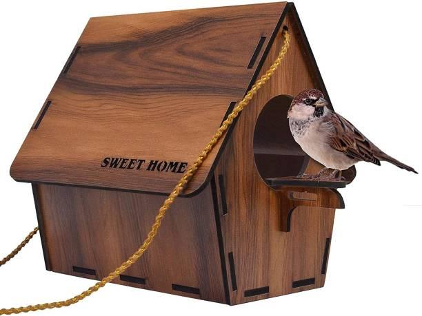 Zooglu Bird House or Bird Nest Box 1 Piece Bird House Bird House