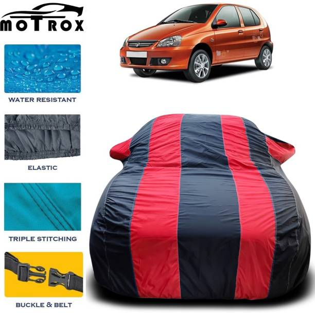 MoTRoX Car Cover For Tata Indica (With Mirror Pockets)