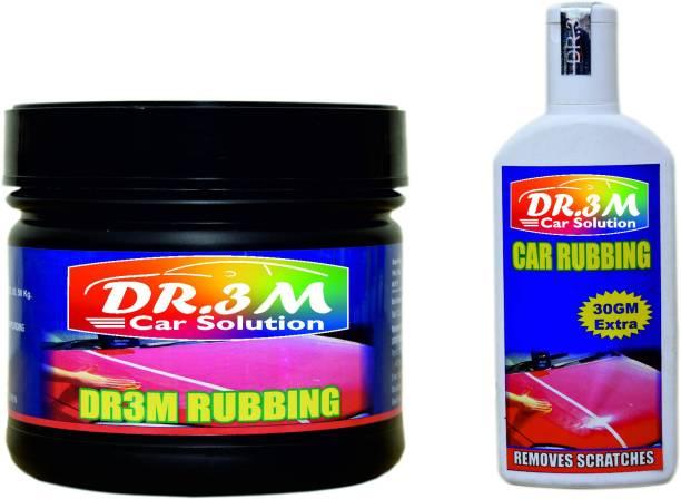 dr.3m RUBBING 500GM.+ CAR RUBBING SCRATCH REMOVER 100GM. Combo
