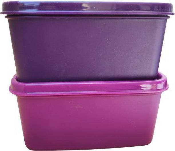 TUPPERWARE keep tab small ( violet + purple ) 520ml pack of 2  - 520 ml Plastic Utility Container