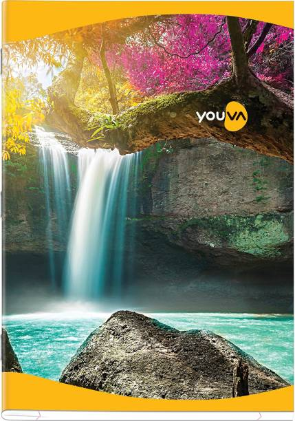NAVNEET Youva Soft Bound Long Book 21x29.7 cm A4 Notebook Unruled 172 Pages