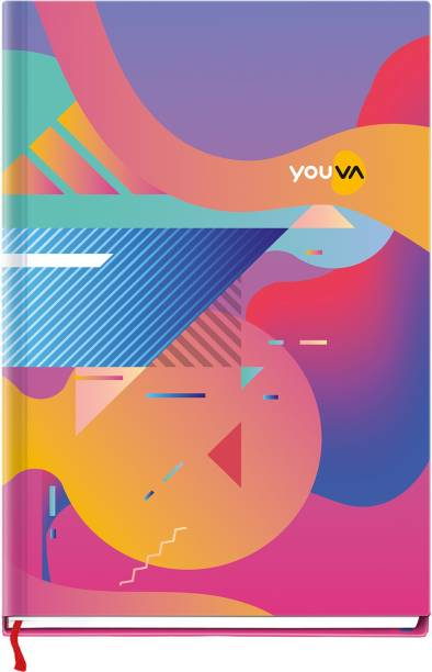NAVNEET Youva Case Bound My Notes 14.8x21 cm A5 Notebook Single Line 192 Pages