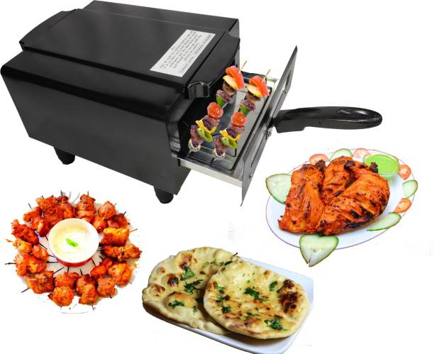 Chefman Electric Tandoor and Barbeque Grill with Accessories Pizza Maker