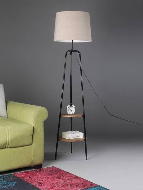 Sanded Edge Tripod Floor lamp