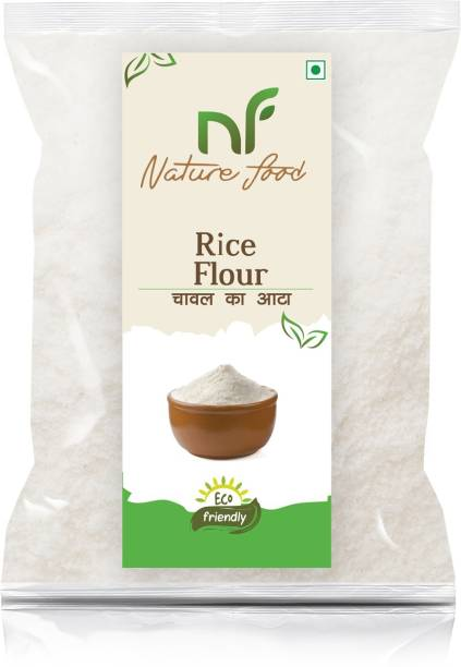 Nature food Best Quality Rice Flour/Chaval Atta - 2KG Pack