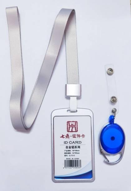 AAES Aluminum Lanyard, ID Badge Holder, ID Badge Reel