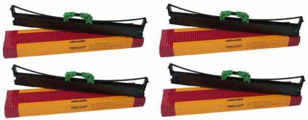 SVM Compitable Olivetti PR2 DMP Ribbon Cartridge, Pr2e PR2 ( PACK OF 4 PIC ) Black Ink Toner
