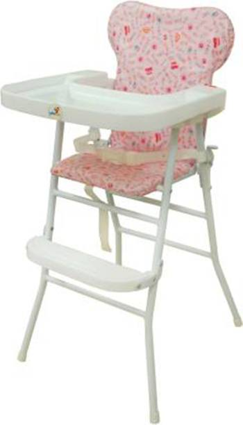 sunbaby KIDS HIGH CHAIR 4217 PINK Metal Chair