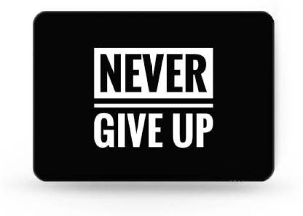 SMULY MOUSEPAD NEVER GIVE UP Mousepad