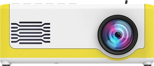 GLOSS 1000 lm LCD Corded Portable Projector