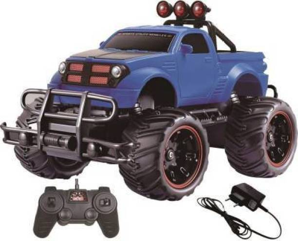 Tector 1:20 Mad Racing Cross Country Hummer Style Monster Rechargeable Remote Control Truck