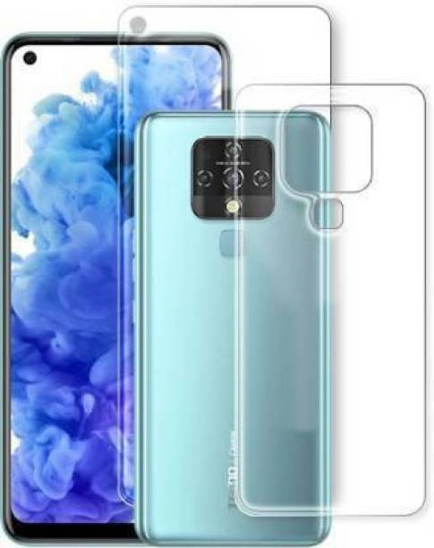PR SMART Front and Back Tempered Glass for Tecno Camon 16