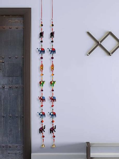 DreamKraft Decorative Elephant Door Hanging Toran