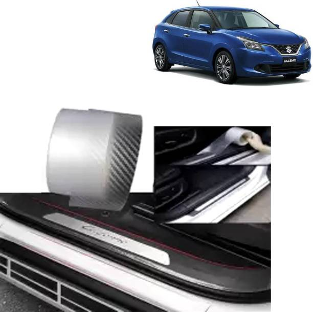 Rhtdm 5 Meter Anti-Scratch sill/Step Decoration Tape 5 meter Transparent For Baleno_T137 Door Sill Plate