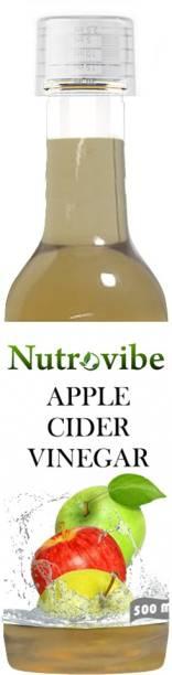 Nutrovibe Apple Cider Vinegar for Weight loss (Raw Vinegar) Vinegar