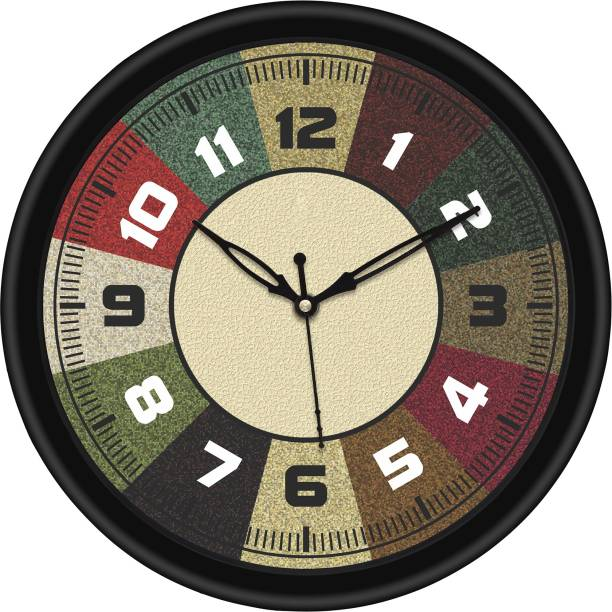 CAPIO ART Analog 26 cm X 26 cm Wall Clock