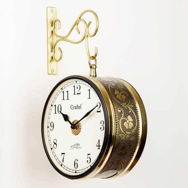 Craftel Analog 21 cm X 21 cm Wall Clock