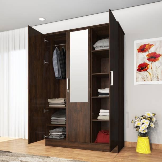 Lumberlust Phoenix Engineered Wood 3 Door Wardrobe