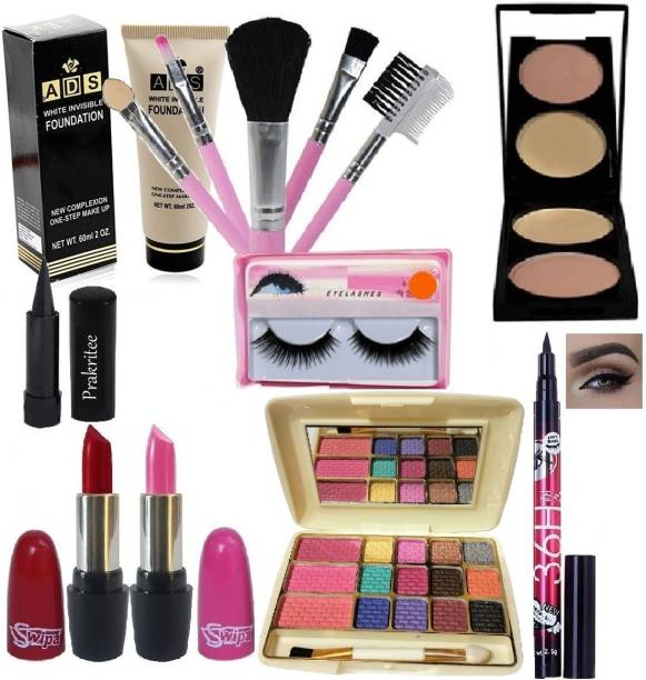 Prakritee All In One Makeup Kit For Girls And Women-12322