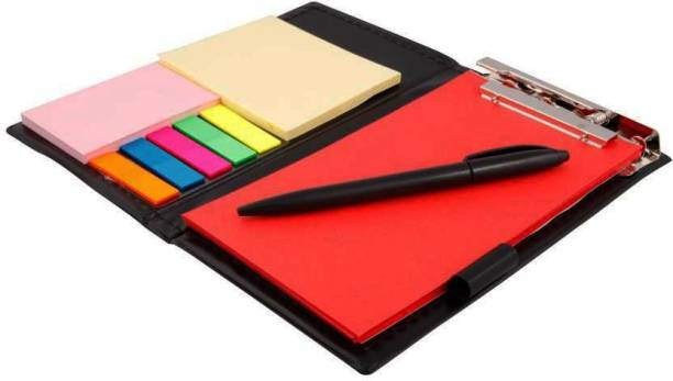 COI Memo Note Pad/Memo Note Book with Sticky Notes & Clip Holder in Diary Style A5 Memo Pad NO 50 Pages