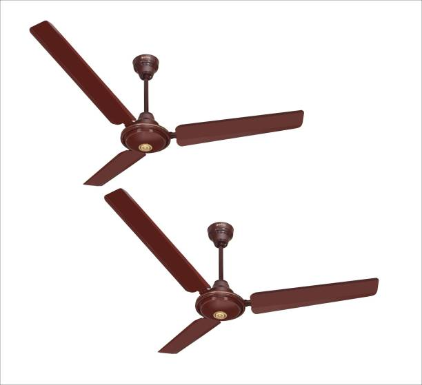 ACTIVA APSRA 5 STAR PACK OF TWO 1200 mm 3 Blade Ceiling Fan