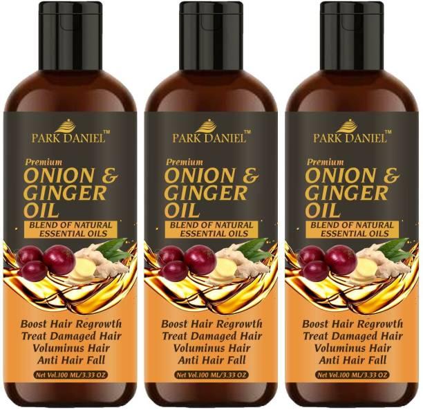 PARK DANIEL Premium Onion & Ginger oil Hair Oil