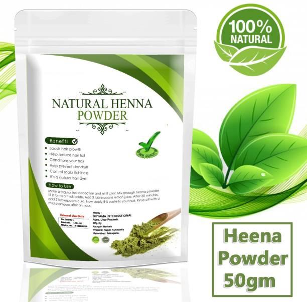 Ayurgenharbal Heena Mehndi Powder/ Henna Powder for hair Growth/ Mehndi powder for hand