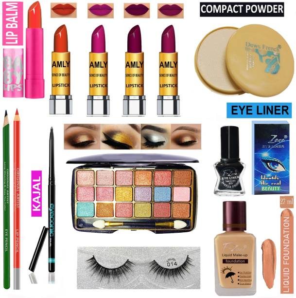 AMLY All In One Makeup Kit For Women And Girls RB09