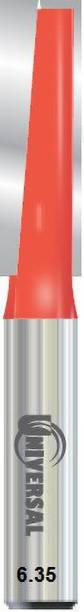 ALPHABET SHANK(6.35) ( Cut Dia.6 MM) UNIVERSAL [CLEANING BOTTOM] STRAIGHT ROUTER BIT -1 Rotary Bit Set