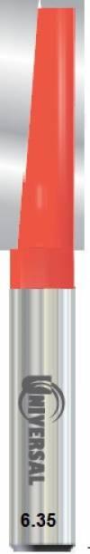 ALPHABET SHANK(6.35) ( Cut Dia.8 MM) UNIVERSAL [CLEANING BOTTOM] STRAIGHT ROUTER BIT -1 Rotary Bit Set