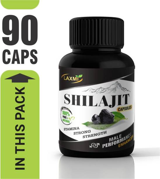Laxmi Shilajit Gold extract Capsule Power Booster To Improve Strength, Stamina, Vigour ,Vitality and Testosterone Booster